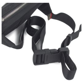 Burberry-Burberry Black Nylon Belt Bag-Black
