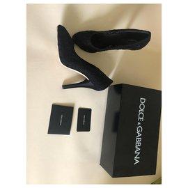 Dolce & Gabbana-Heels-Black