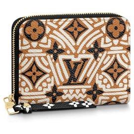 Louis Vuitton-LV Zippy crafty new-Cream