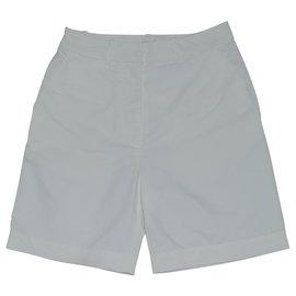 Acne-Shorts-White