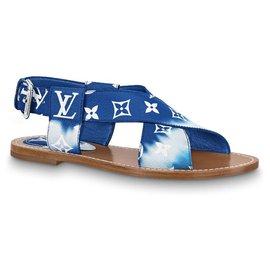 Louis Vuitton-LV sandals escale palma new-Blue