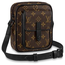 Louis Vuitton-LV Christopher wearable wallet new-Brown