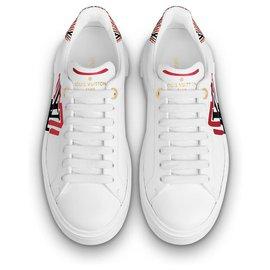 Louis Vuitton-LV Crafty sneakers-White