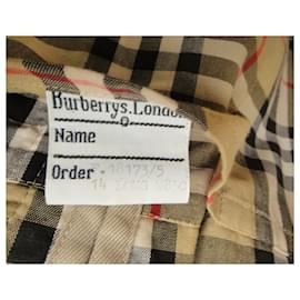 Burberry-womens Burberry vintage t trench coat 42-Beige