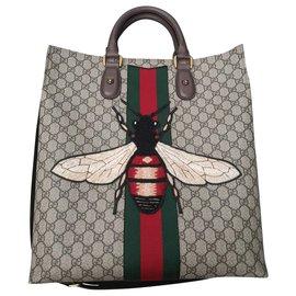 Gucci-Sac cabas Gucci Monogram Animalier Bee-Autre