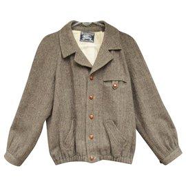Burberry-Burberry men's vintage fifties t M jacket-Brown