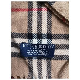 Burberry-Burberry mixed brown scarf-Light brown