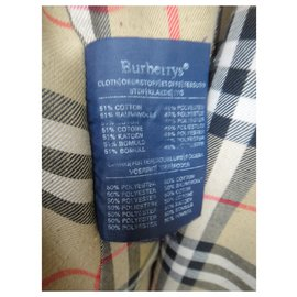 Burberry-womens Burberry vintage t trench coat 46-Beige