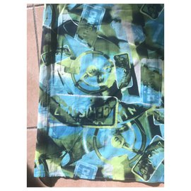 Dior-Maillots de bain-Bleu,Vert