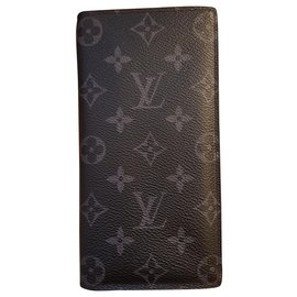 Louis Vuitton-Brazza wallet-Grey