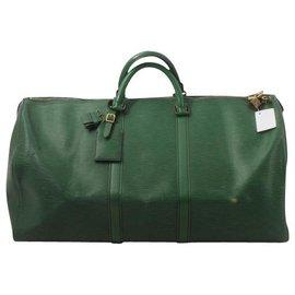 Louis Vuitton-Louis Vuitton Keepall 55-Vert