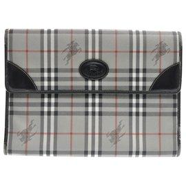 Burberry-Burberry clutch bag-Grey
