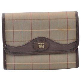 Burberry-Burberry clutch bag-Khaki