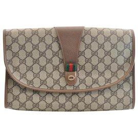 Gucci-Gucci Pochette-Marron