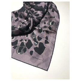 Burberry-BURBERRY lined-face scarf-Multiple colors
