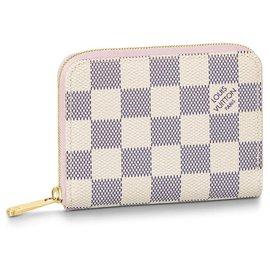Louis Vuitton-LV zippy coin DA ballerine-Beige
