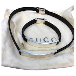 Gucci-Collier et bracelet Gucci-Blanc