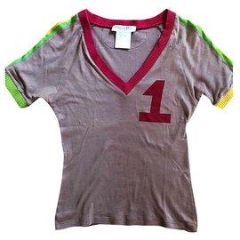 Christian Dior-Rare ensemble t-shirt et jupe de piste Galliano Rasta-Autre