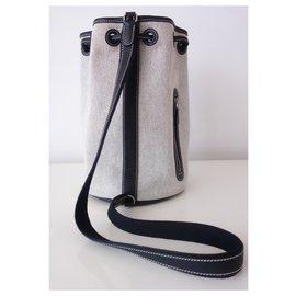 Hermès-HERMES MARKET BAG-Black,Grey
