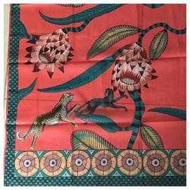 Hermès-kennedy savane dance-Multicolore