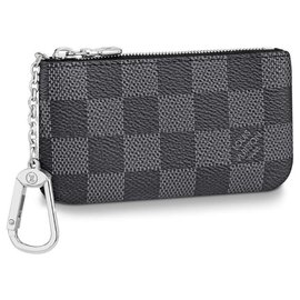 Louis Vuitton-LV pochette cles new-Grey