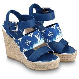 Louis Vuitton-Cale tribord LV Escale neuve-Bleu