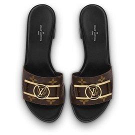Louis Vuitton-Mules LV Lockit-Noir