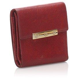 Cartier-Cartier Black Love Leather Wallet-Black