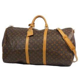 Louis Vuitton-Louis Vuitton Keepall Bandouliere 60 sac Boston unisexe M41412-Autre