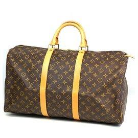 Louis Vuitton-Louis Vuitton Keepall 50 sac Boston unisexe M41426-Autre
