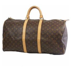 Louis Vuitton-Louis Vuitton Keepall 55 sac Boston unisexe M41424-Autre