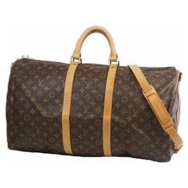 Louis Vuitton-Louis Vuitton Keepall Bandouliere 55 sac Boston unisexe M41414-Autre