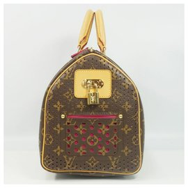 Louis Vuitton-Louis Vuitton Speedy 30 Sac Boston femme M95182 fuschia-Fuschia
