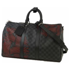 Louis Vuitton-Louis Vuitton Keepall Bandouliere 45 Mens Boston bag N41701-Other
