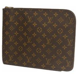 Louis Vuitton-Louis Vuitton Poche Documents Second sac homme M53457-Autre