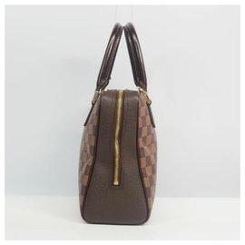 Louis Vuitton-Louis Vuitton Brera Womens handbag N51150 damier ebene-Damier ebene