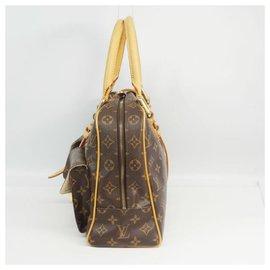 Louis Vuitton-LOUIS VUITTON Manhattan GM Sac Boston Femme M40025-Autre