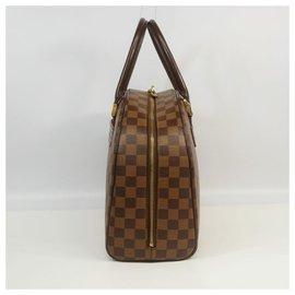 Louis Vuitton-Louis Vuitton Nolita Sac Boston Femme N41455 Damier Ebene-Damier ebène