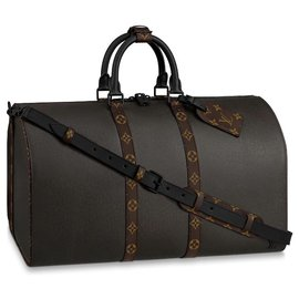 Louis Vuitton-LV Keepall new-Dark green