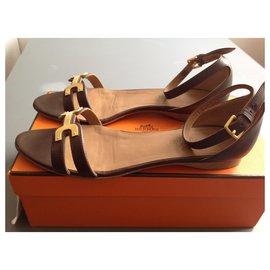 Hermès-Santorini Hermès-Brown