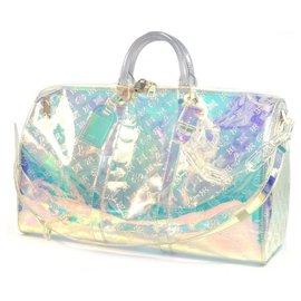 Louis Vuitton-Louis Vuitton Keepall Bandouliere 50 sac Boston unisexe M53271 Rainbow-Autre