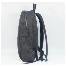Gucci-Sac à dos en nylon Gucci GG 449181 black-Noir