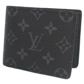 Louis Vuitton-Louis Vuitton portofeuilles Slender Mens Folded wallet M62294-Other