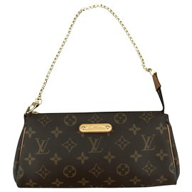 Louis Vuitton-Eva clutch bag-Brown