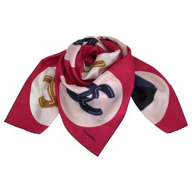 Chanel-SCARF CHANEL SILK-Other