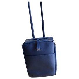 Louis Vuitton-Sac de voyage-Bleu foncé