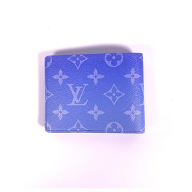 Louis Vuitton-slender wallet-Blue