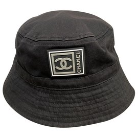 Chanel-Hats-Black,Grey