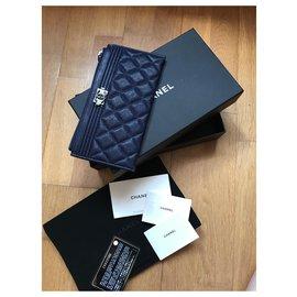 Chanel-Boy Wallet Chanel-Purple