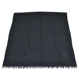Burberry-Burberry scarf-Black